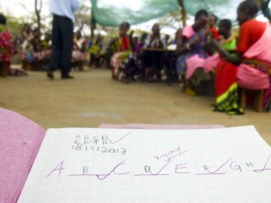 Adult Literacy Class as Olng'arua