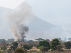 Burning House, Shambani, Isiolo
