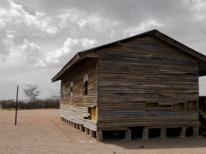 Old Wooden Building in Kaikor