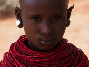 Samburu Girl in Kipsing