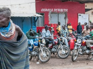 Motorbike Taxis Kakuma Town