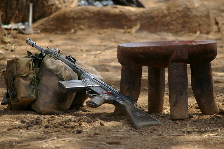 Kenya Police Reservist's Gun