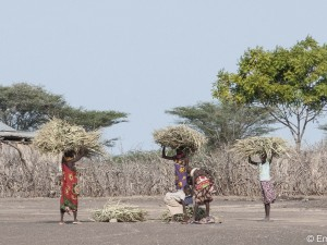 Turkana Women in a Lake Side Village