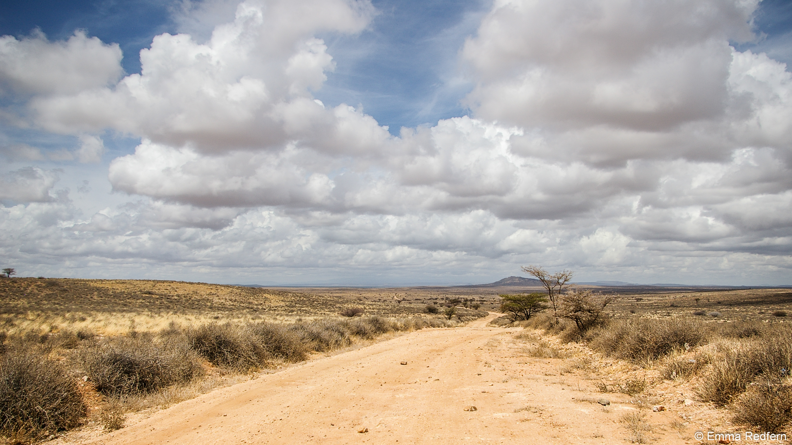The road from Maralal to Baragoi