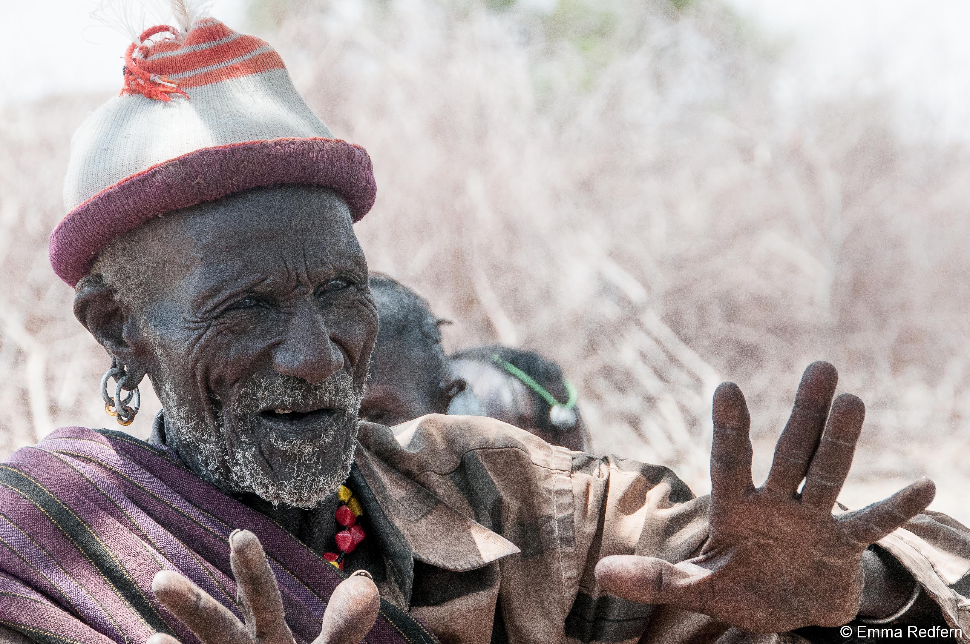 Turkana Mzee Talking about Climate Change