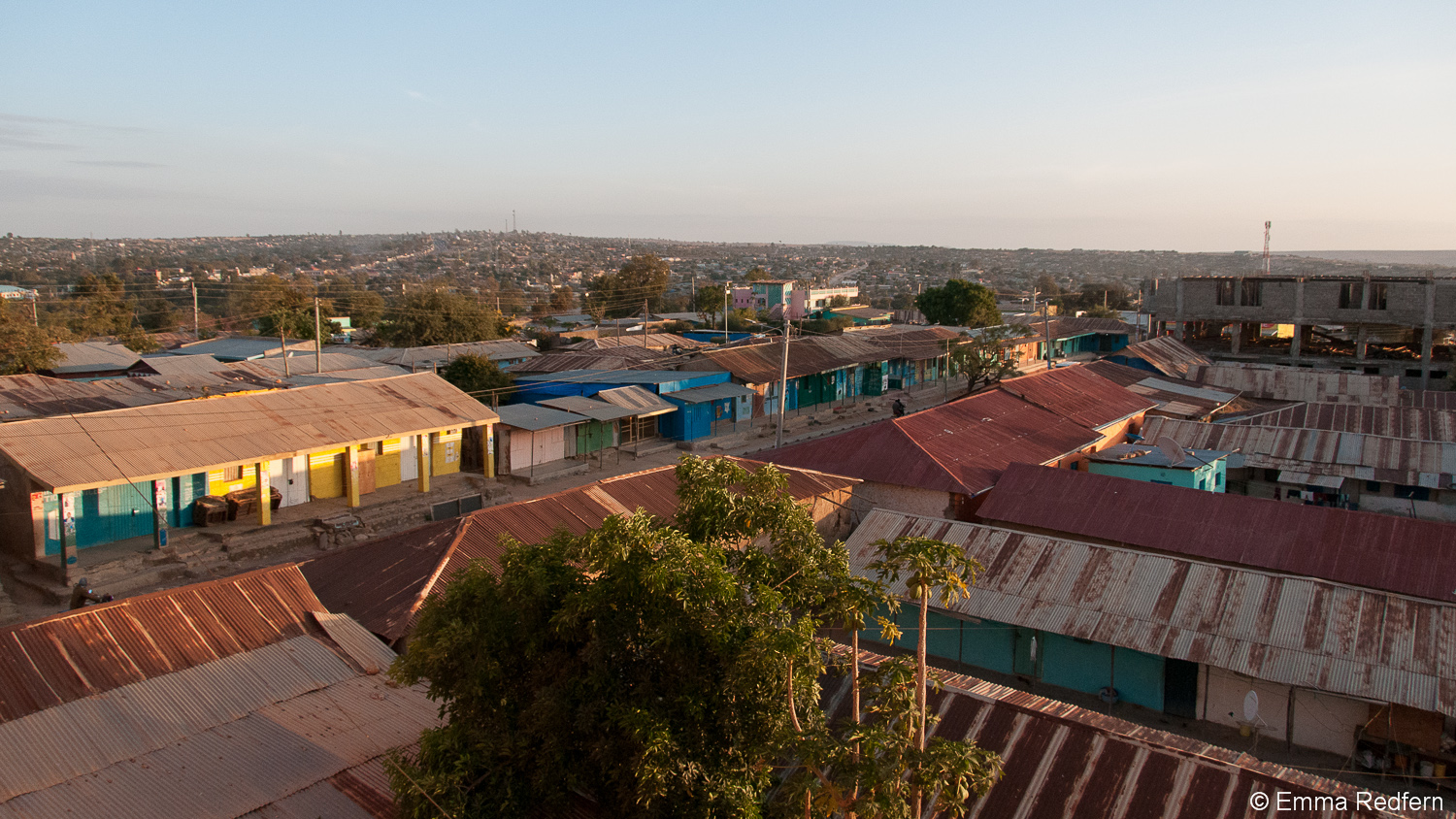 Moyale at dawn