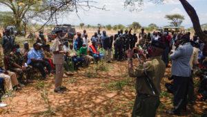 NCIC and Northern Rangeland Trust facilitate an inter-ethnic dialogue (peace meeting) between Turkana, Samburu and Somali communities in Mlango, Burat Ward, Isiolo County, on 21st Sept 2020